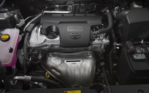 2013 RAV4 gets four-cylinder power only, the V6 is dropped.