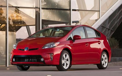The Toyota Prius was the second most-searched vehicle on Autoweek.com for 2012.