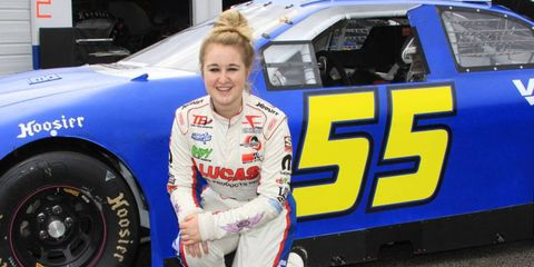Taylor Ferns was the fastest woman and fourth-quickest driver among 60 drivers and 61 cars at an ARCA Series test at Daytona.