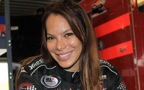 Former IndyCar and American Le Mans Series driver Milka Duno participated in an ARCA Racing Series test this past weekend at Daytona.
