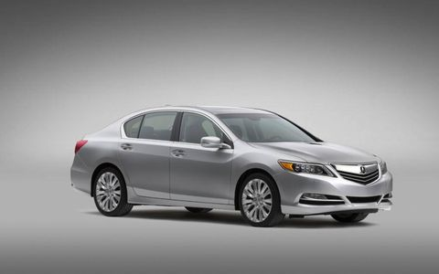The 2014 Acura RLX is the brands new flagship sedan.