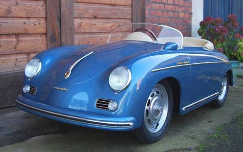 This miniature Porsche 356 Speedster isn't cheap, but we'd sure be jealous of whatever kid on the block was lucky enough to have the keys.