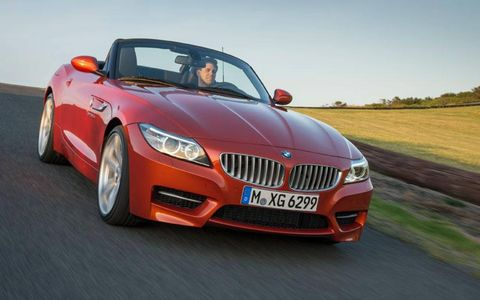 The BMW Z4 roadster gets an update for the 2014 model year. Basic shape stays the same, but buyers will get a few new color options.