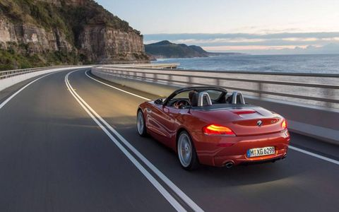 "One new color for the 2014 BMW Z4 roadster is called ""Valencia orange metallic."" It will only be available to buyers choosing the Hyper Orange package."