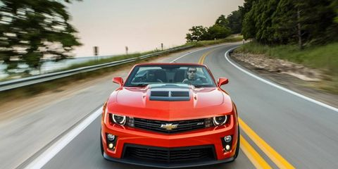All the fun of the Camaro ZL1 coupe, but in drop-top form.
