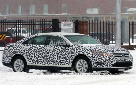 Spied: 2010 Ford Taurus