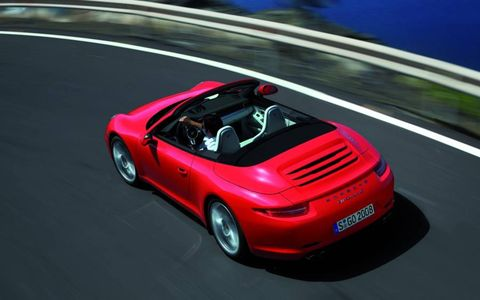 The Cabriolet weighs 155 pounds more than the coupe thanks to the added structural support.