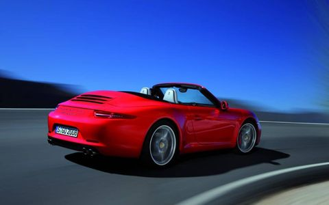 Like the Carrera Coupe, the Cabriolet's ride quality is outstanding.