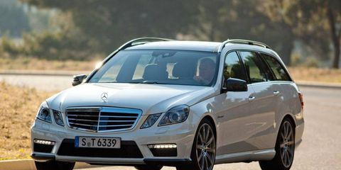 Unless you ignore the law, there's no way to wring all the power and performance out of the 2012 Mercedes-Benz AMG E63 Wagon.