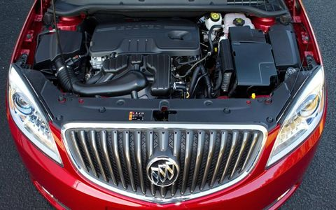 The 2.4-liter four-cylinder engine makes 180 hp and 171 lb-ft of torque.