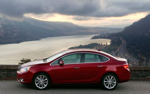 The ride is classic Buick, comfortable and luxurious.