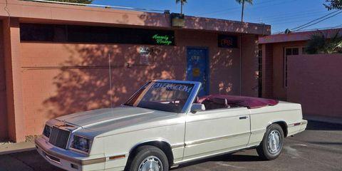 Our 1982 Chrysler LeBaron wasn't really a good car, but it was an honest car.