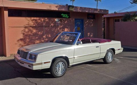 Our 1982 Chrysler LeBaron wasn't really a good car, but it was an honest car.