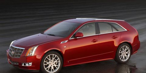 Driver's Log: 2010 Cadillac CTS Sport Wagon