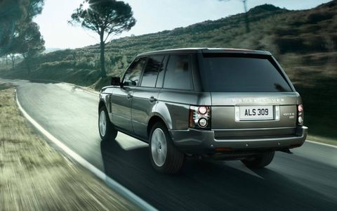 The big SUV handles surprisingly well for being such a big vehicle.