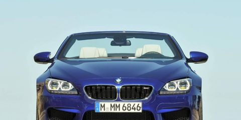 The BMW M6 is powered by a twin-turbocharged 4.4-liter V8 making 560 hp and 500 lb-ft of torque.
