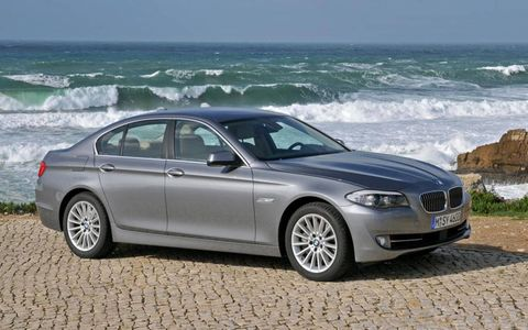 Flash Drive: 2011 BMW 5-Series