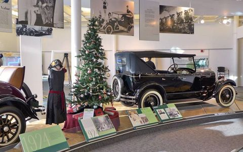 Cars got bigger and trees got taller during the Roaring Twenties.