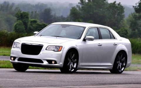 The 300 SRT8 is powered by a 6.4-liter V8 making 470 hp and 470 lb-ft of torque.