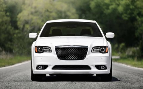 Chrysler's 300 SRT8 has lots of power, but it also has lots of class.