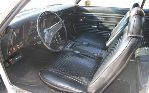 The interior of Tom Ng's 1969 Camaro.