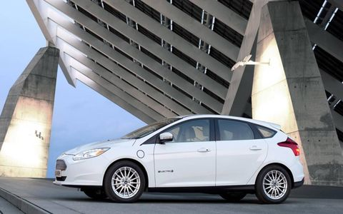 The Focus Electric has enough power to safely get onto expressways.