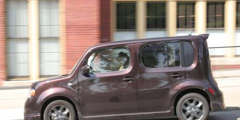 The 2009 Nissan Cube