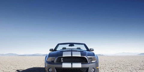 Driver's Log: 2010 Ford Shelby Mustang GT500 Convertible