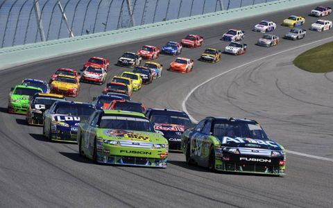 The final race of the NASCAR season at Homestead Miami Speedway