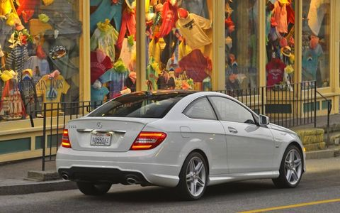 2012 MERCEDES BENZ C350 COUPE