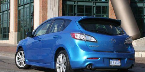 Driver's Log Gallery: 2011 Mazda 3 Five-Door