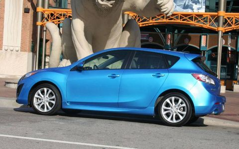 Driver's Log Gallery: 2011 Mazda 3 Five-Door