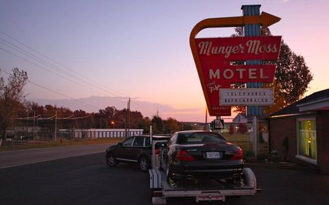 A number of motels along Route 66 have been restored. This is the Munger Moss Motel in Lebanon, Mo.