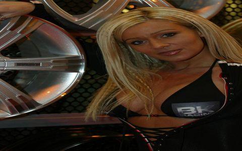 The Best Blonde Grid Girl 2008