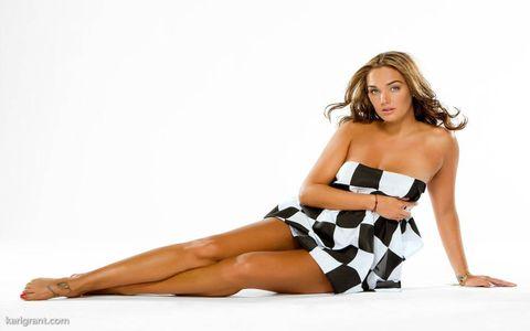 The Best Brunette Grid Girl 2008