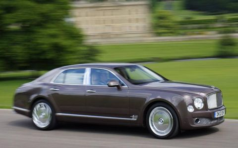 The 2014 Bentley Mulsanne will debut at the Geneva auto show.