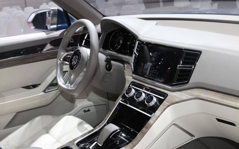 Volkswagen CrossBlue Interior