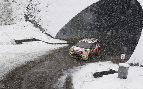 2013 World Rally ChampionshipMonte Carlo RallySebastien Loeb, Citroen