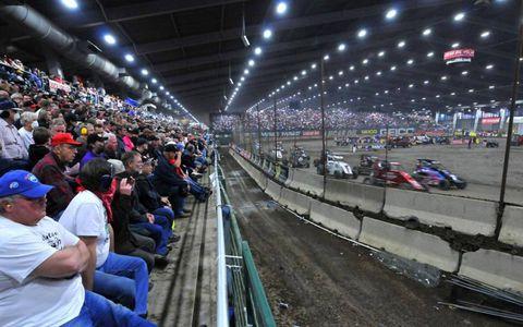 2013 Chili Bowl Nationals, Tulsa Expo Raceway, Tulsa, Oklahoma.Photo by Rupert Berrington