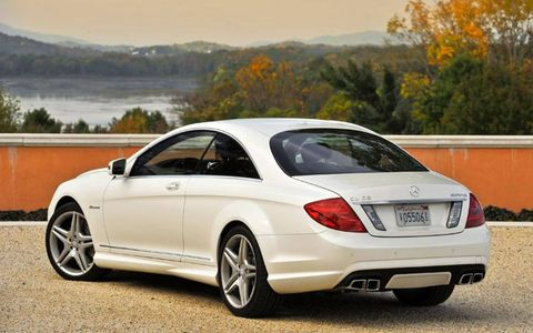 The CL63 AMG is more or less, a coupe variant of the S63 AMG.