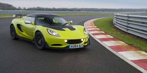 The 2015 Lotus Elise S Cup is on sale in the UK and Europe now.