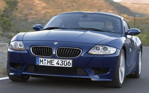 Powering BMW's latest M car is the same highly strung 3.2-liter inline six-cylinder engine found in the M3. With 343 hp at 7900 rpm, it trumps the Cayman S 3.4-liter horizontally opposed six-cylinder powerplant to the tune of 48 hp. Its 269-lb-ft of torque at 4900 rpm is also 18-lb-ft more than Porsche's entry level coupe can muster. While the Z4 M Coupe holds the advantage in raw reserves, its 3124-lb curb weight is 176 lbs above that of the 2948-lb Cayman. Even so, the new BMW's power-to-weight ratio is still 22-hp up on the highly lauded Porsche. Channeling drive to the rear wheels is a traditional double H-pattern six-speed manual gearbox and the same electronically controlled M-differential and 3.62:1 final drive used in the M3.