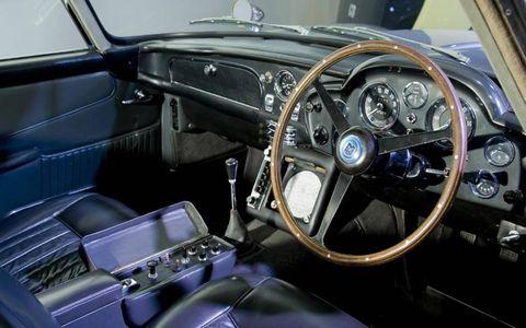 1963 Aston Martin DB5 from Goldfinger (interior)