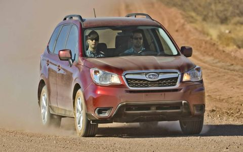The Subaru Forester may not look too different from the last generation, but it's an all-new car for 2014.