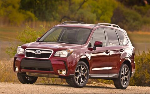 The new Forester is bigger, roomier and has a stiffer chassis.