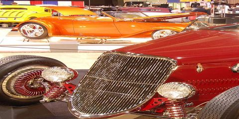 Views from the Grand National Roadster Show in Pomona, Calif.