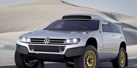 The Volkswagen Race Touareg 3 Qatar