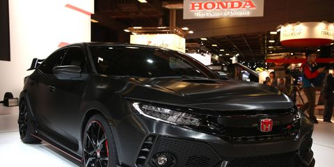 The Honda Civic Type R will land in the U.S. next year.