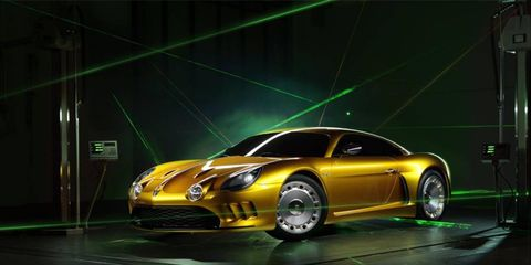 The new car, penned by Emanuele Bomboi, will get a limited production run of 110 examples