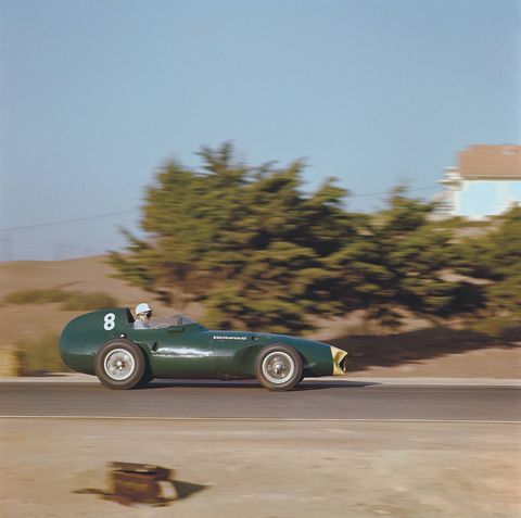 Moss in a VW5 at Morocco in '58